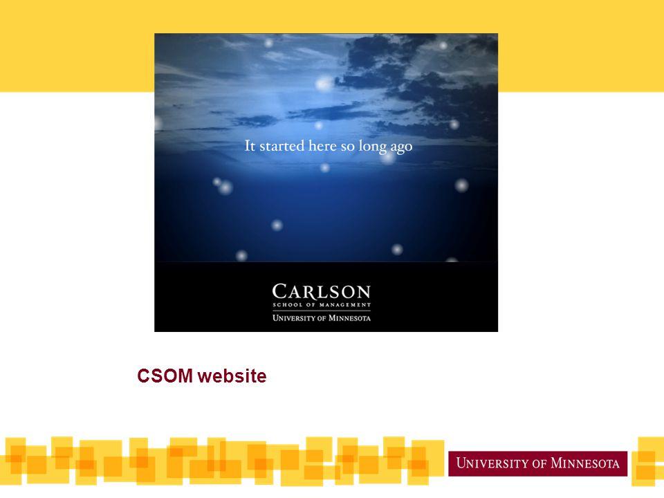 CSOM website