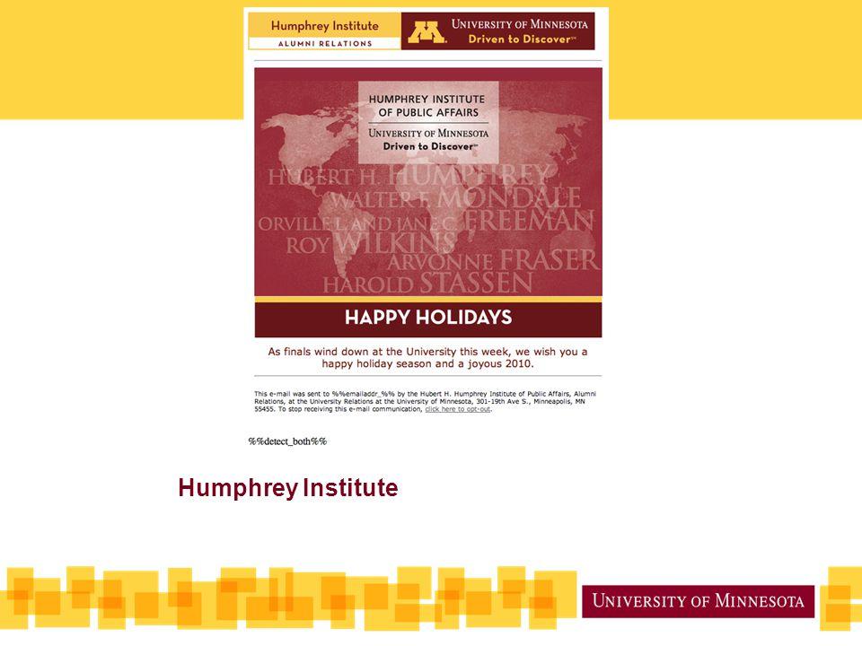 Humphrey Institute