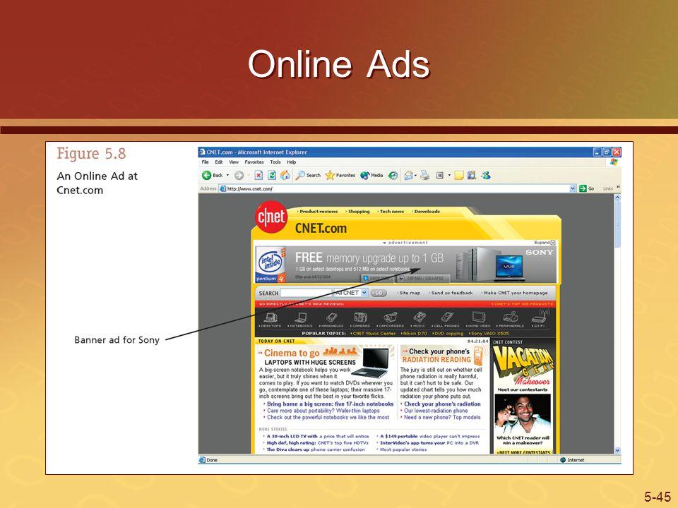 5-45 Online Ads