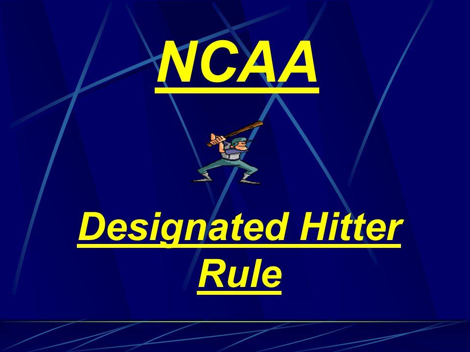 Designated Hitter Rule