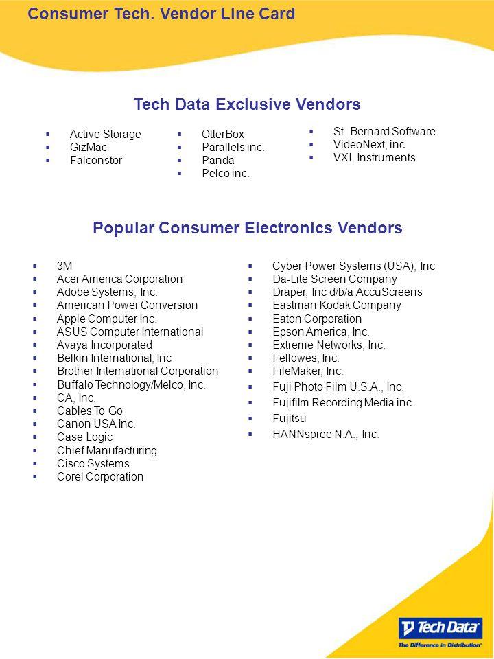 Consumer Tech.