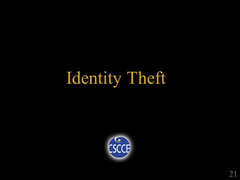 Identity Theft 21
