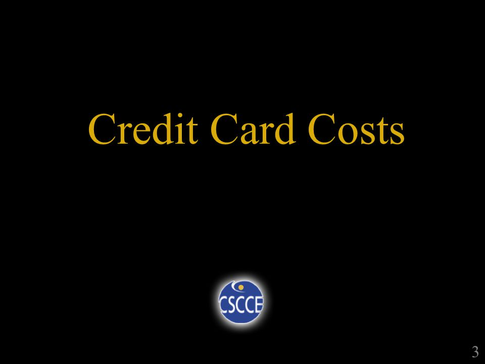 Credit Card Costs 3