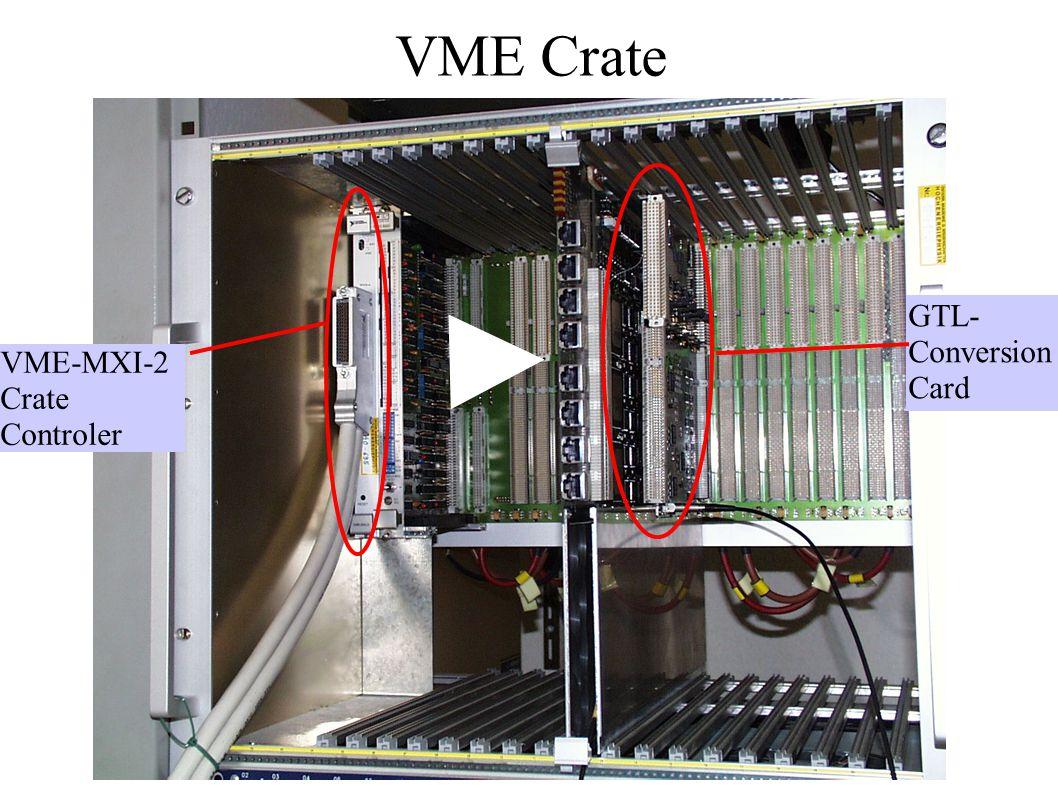 VME Crate VME-MXI-2 Crate Controler GTL- Conversion Card