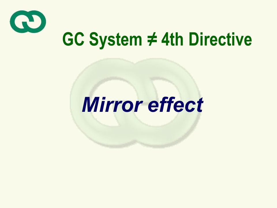 GC System 4th Directive Mirror effect