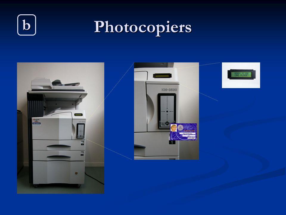 Photocopiers b