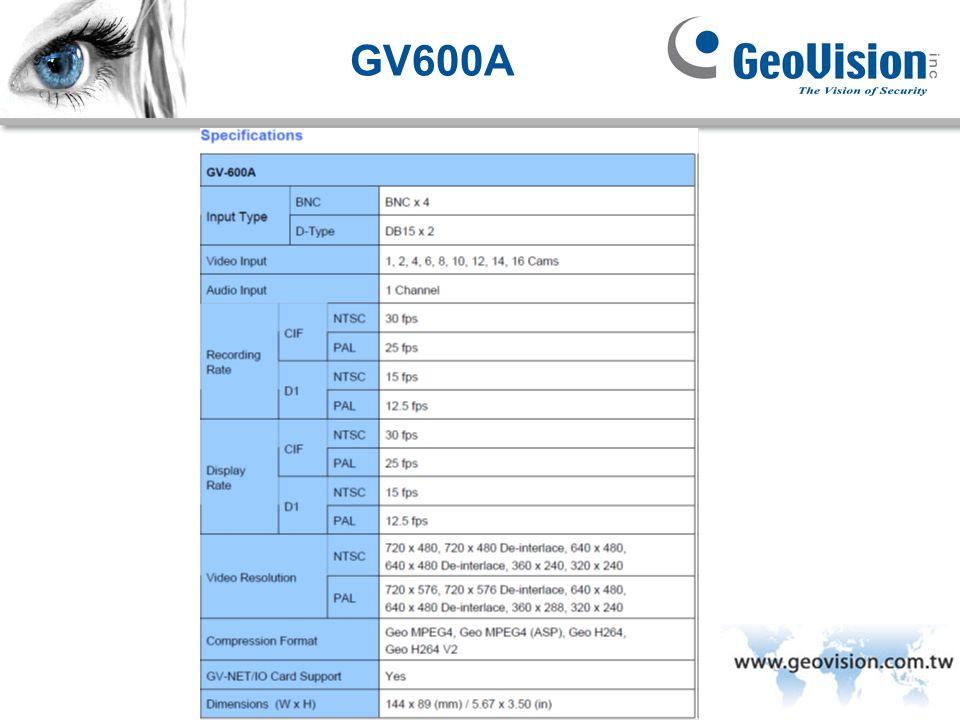 GeoVision Inc. GV600A