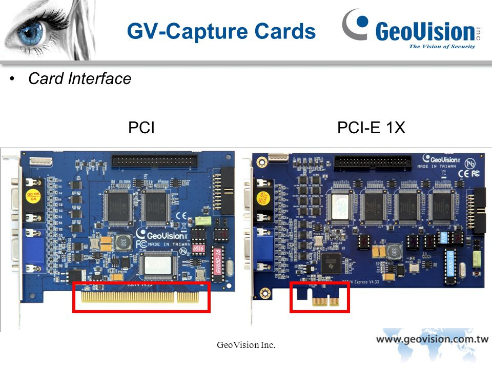 GeoVision Inc. Video and Audio Connections Connecting Video and Audio GV650A/GV800A (D-Type)
