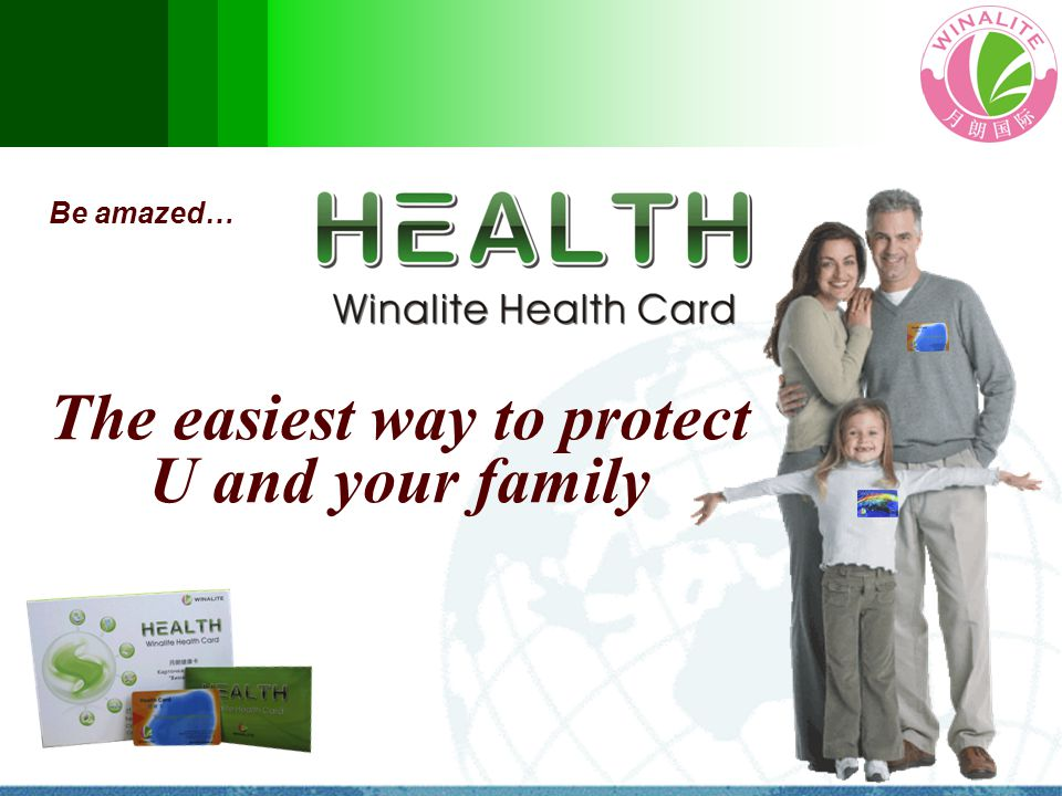 Be amazed… The easiest way to protect U and your family