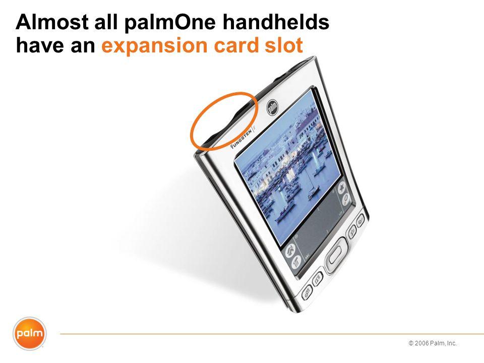 © 2006 Palm, Inc. SD card file structure AudibleAudio AUDIODCIMPALMRN_AUDIO