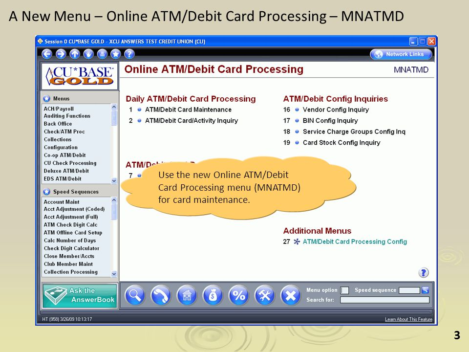 44 Question 8: How do I view all of the activity on a specific card.