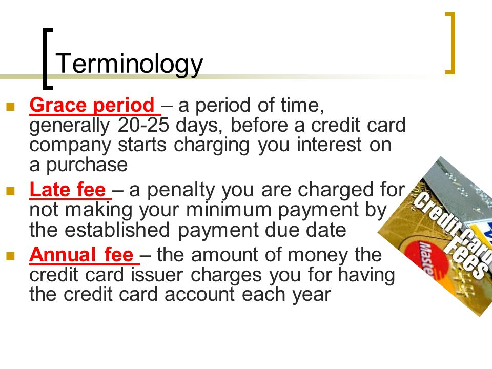 Terminology Cash advance – money you are allowed to obtain in the form of cash through the use of an ATM or bank Cash advance limit – the total amount of money you are allowed to take from the account in the form of cash New purchases/charges – a brief transaction history showing purchases made with the credit card since the last statement http://www.nyc.gov/html/ofe/html/help/stateme nt.shtml http://www.nyc.gov/html/ofe/html/help/stateme nt.shtml