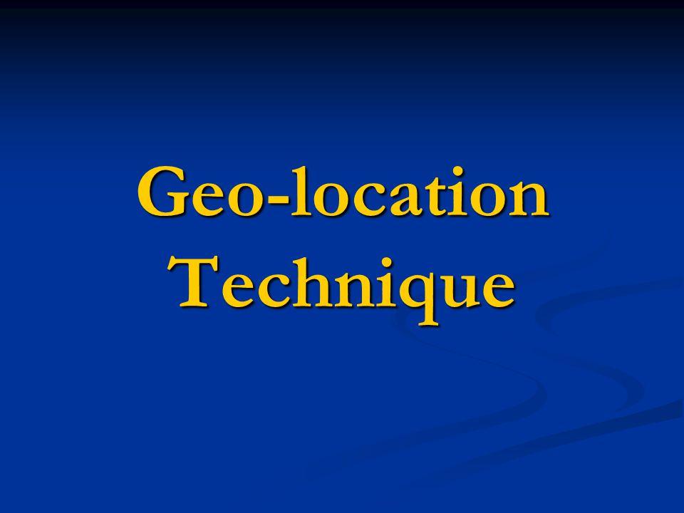 Geo-location Technique