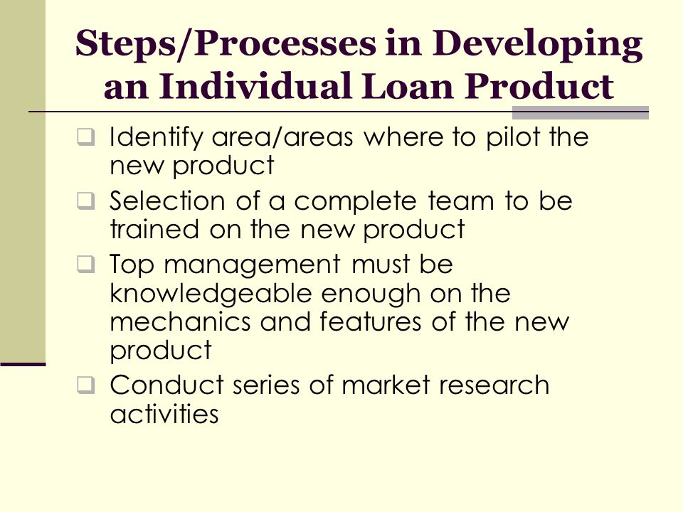 Factors that Motivated CARD Bank to Offer Individual Loan Product Group liability does have a threshold Demand from prospective clients Competition Partnership with MABS Zero-tolerance for loan delinquency is incorporated in the new product