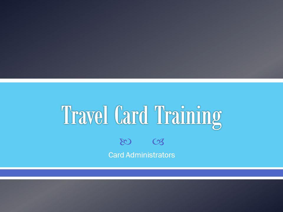 Card Administrators