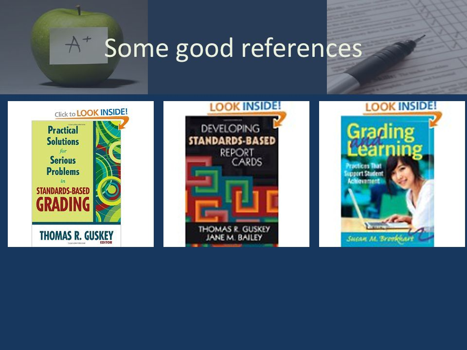 Some good references