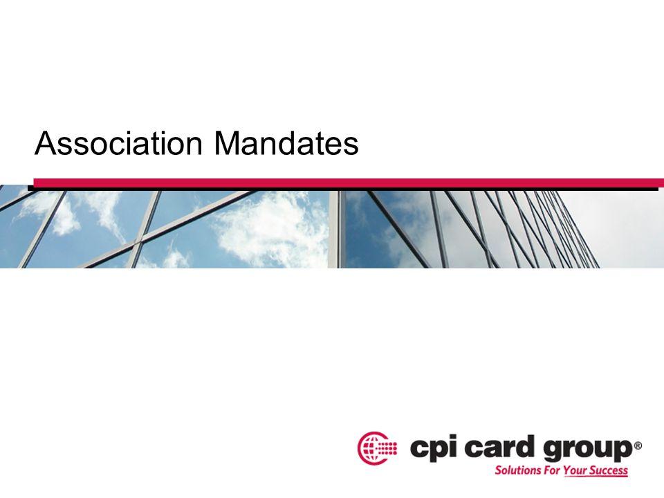 Association Mandates