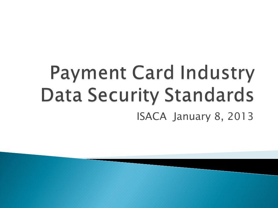 ISACA January 8, 2013