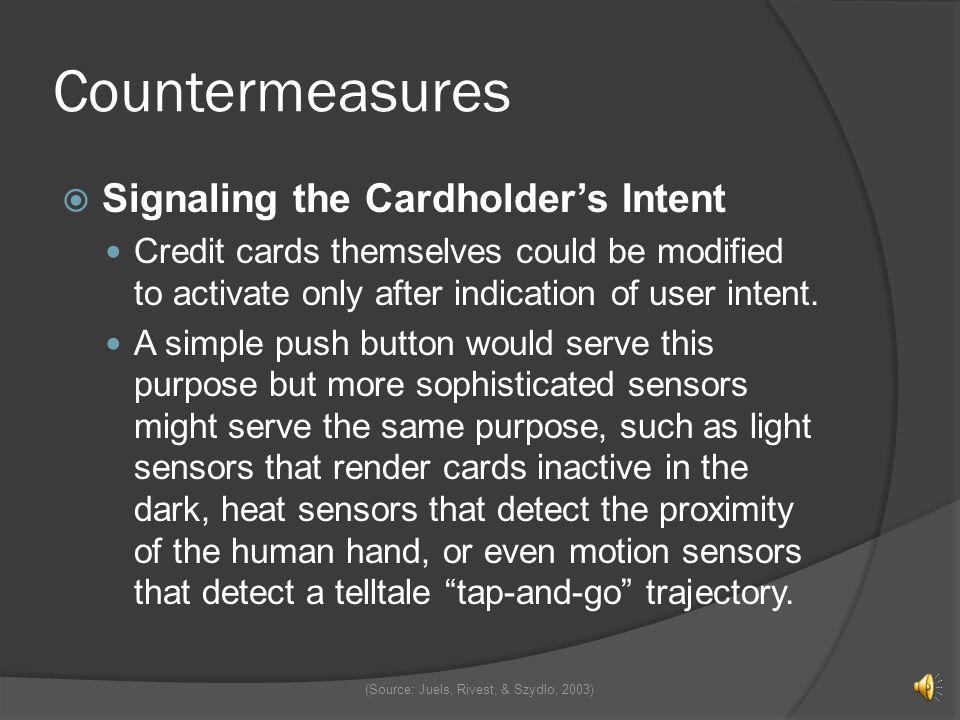 Countermeasures Blocking An RFID blocker tag is a cheap passive RFID device that can simulate many ordinary tags simultaneously The blocker tag does n