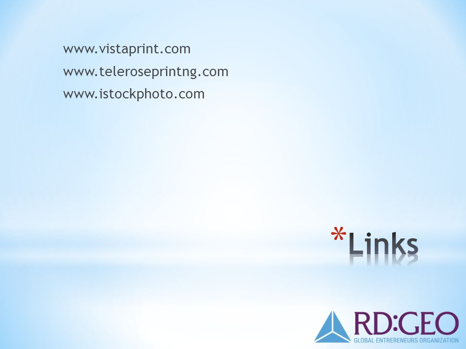 www.vistaprint.com www.teleroseprintng.com www.istockphoto.com