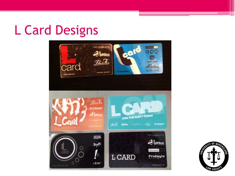 L Card Designs