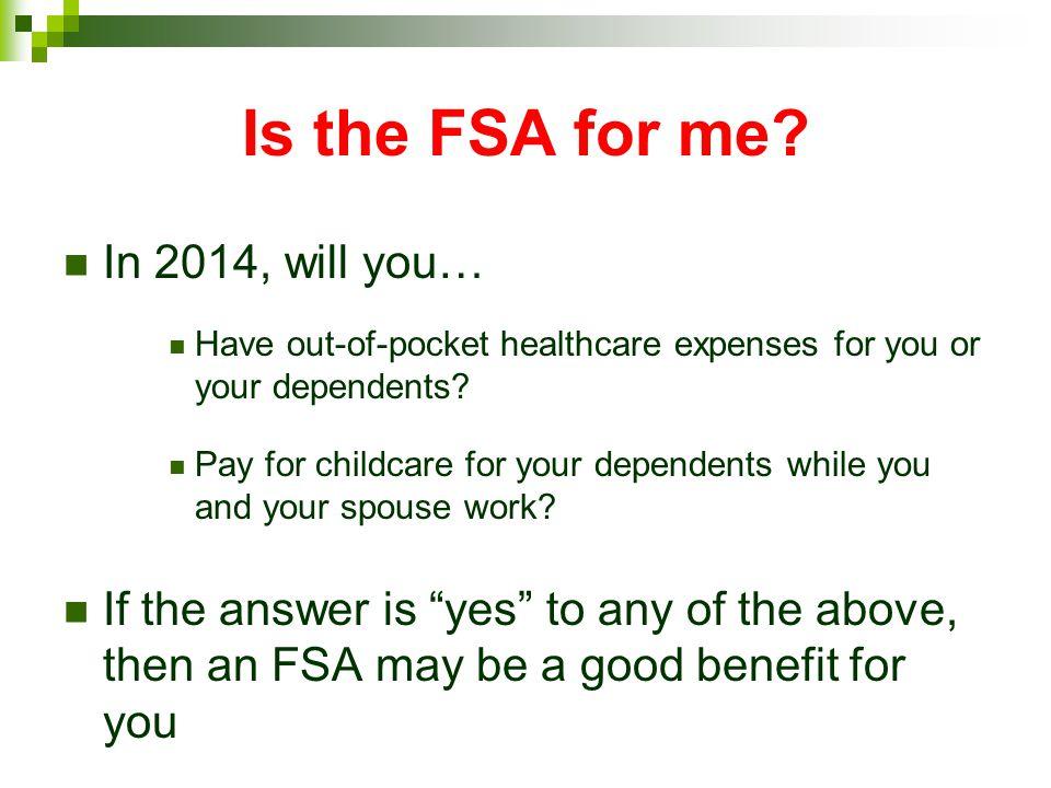 How do FSAs work.