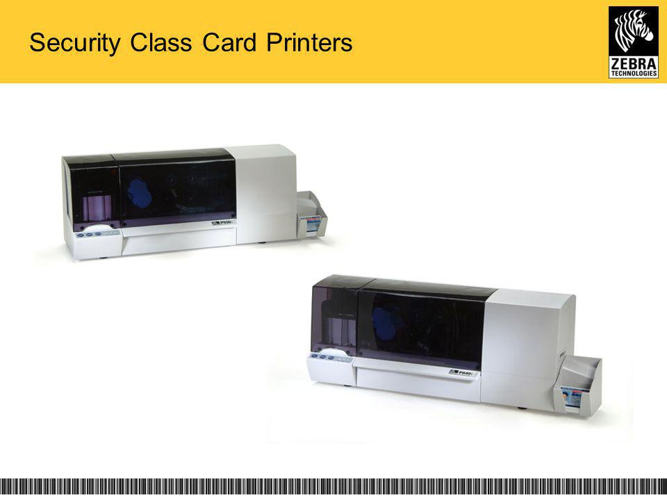 Security Class Card Printers