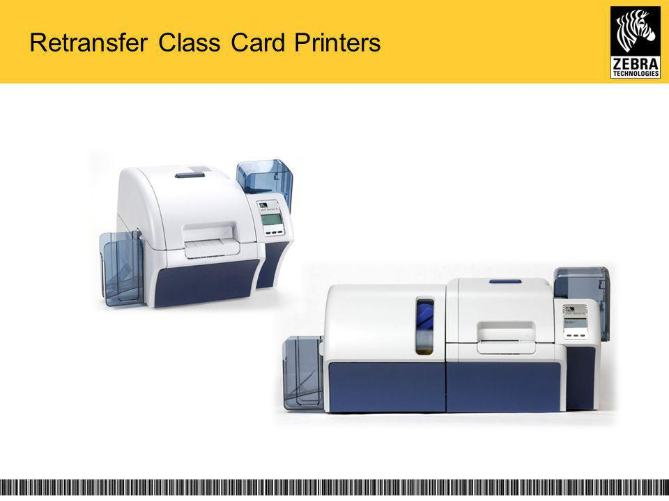 Retransfer Class Card Printers