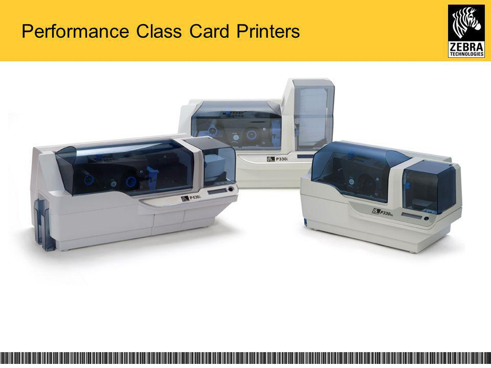 Performance Class Card Printers