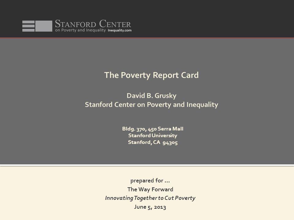 Bldg. 370, 450 Serra Mall Stanford University Stanford, CA 94305 prepared for...