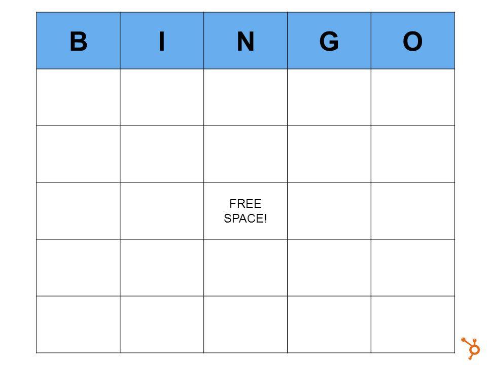 BINGO FREE SPACE!