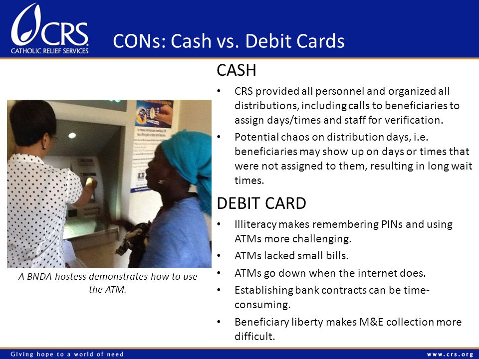 CONs: Cash vs.
