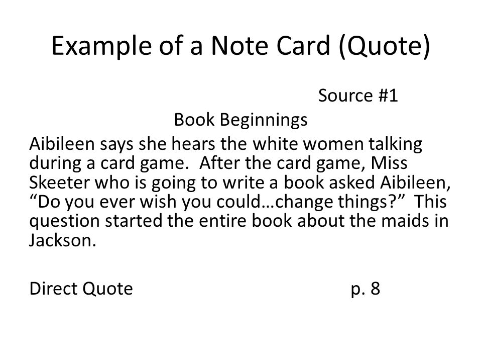 How to make note cards?