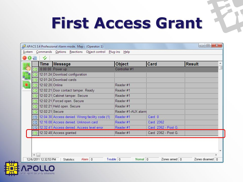 First Access Grant