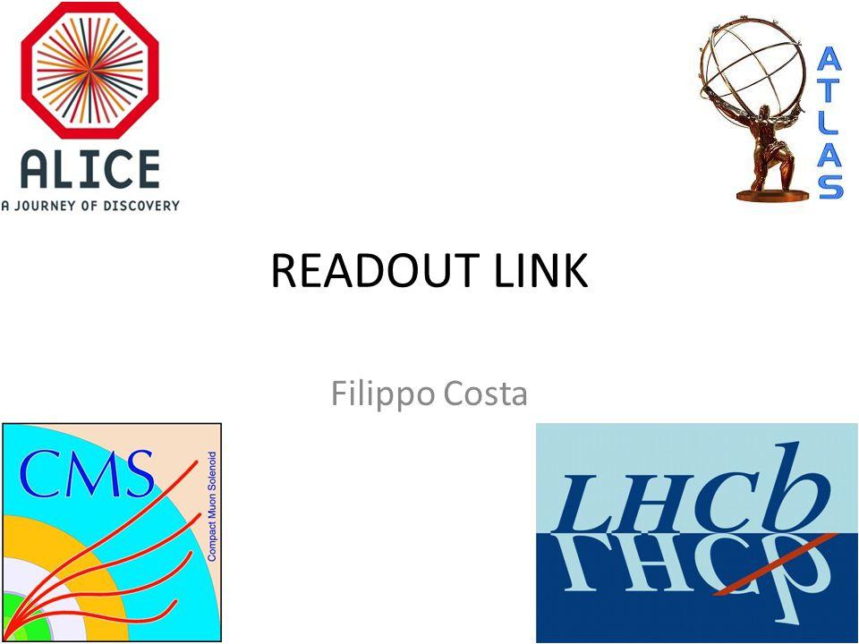 READOUT LINK Filippo Costa