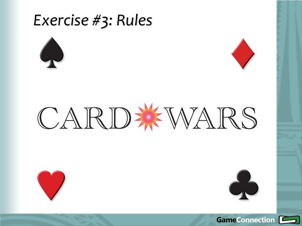 Exercise #3: Rules
