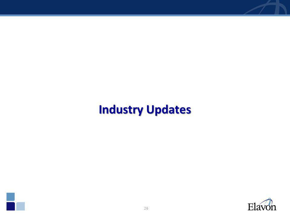 26 Industry Updates