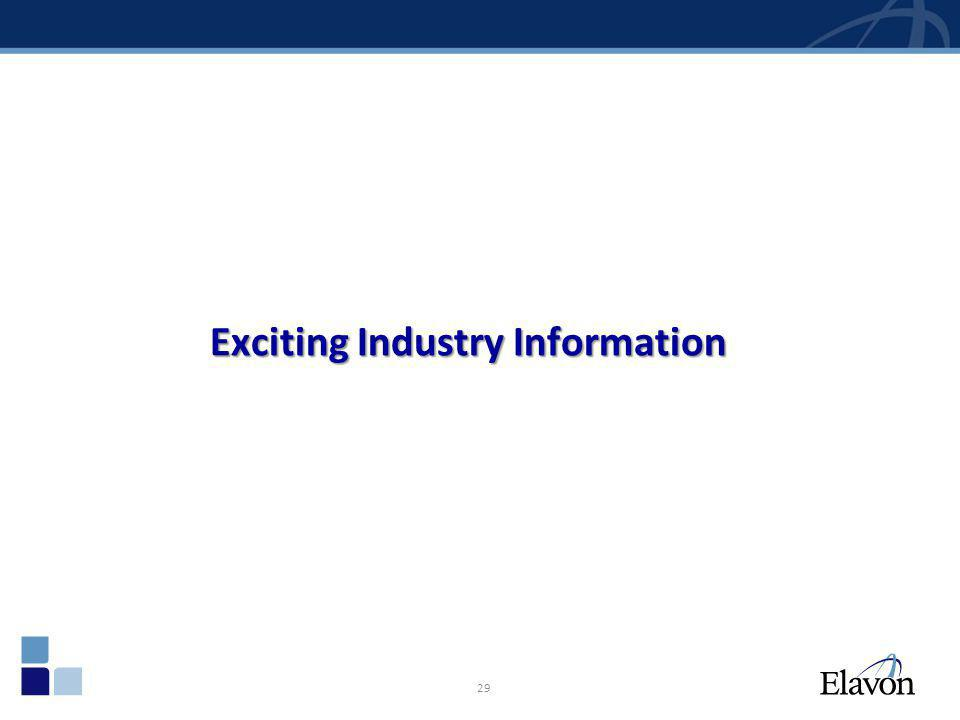 Exciting Industry Information 29