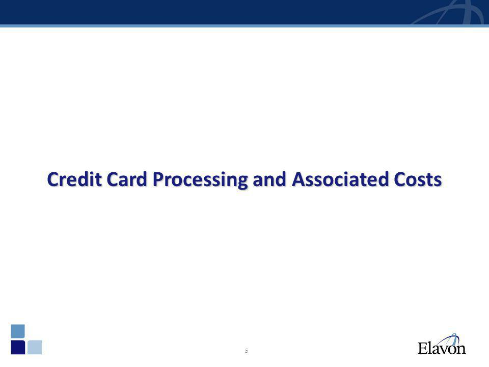 5 Credit Card Processing and Associated Costs
