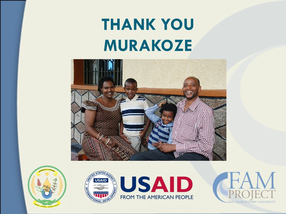 THANK YOU MURAKOZE