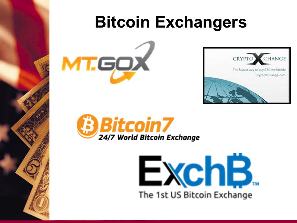 Bitcoin Exchangers