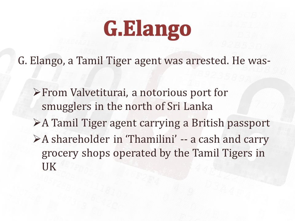 LTTE accused of masterminding credit card scam in UK - 200 petrol pumps hit - 5000 cards cloned - 2007 Stolen credit card numbers used to steal $250,000 in New York - 2007 Cloning cards to fund armed campaigns in Sri Lanka Credit card frauds amounted to £ 535m in UK in 2007 In 2009, 130 million credit and debit cards stolen from Heartland Payment Systems, retailers 7-Eleven and Hannaford Brothers 2013 - Target Corporation exposed data from about 40 million credit cards