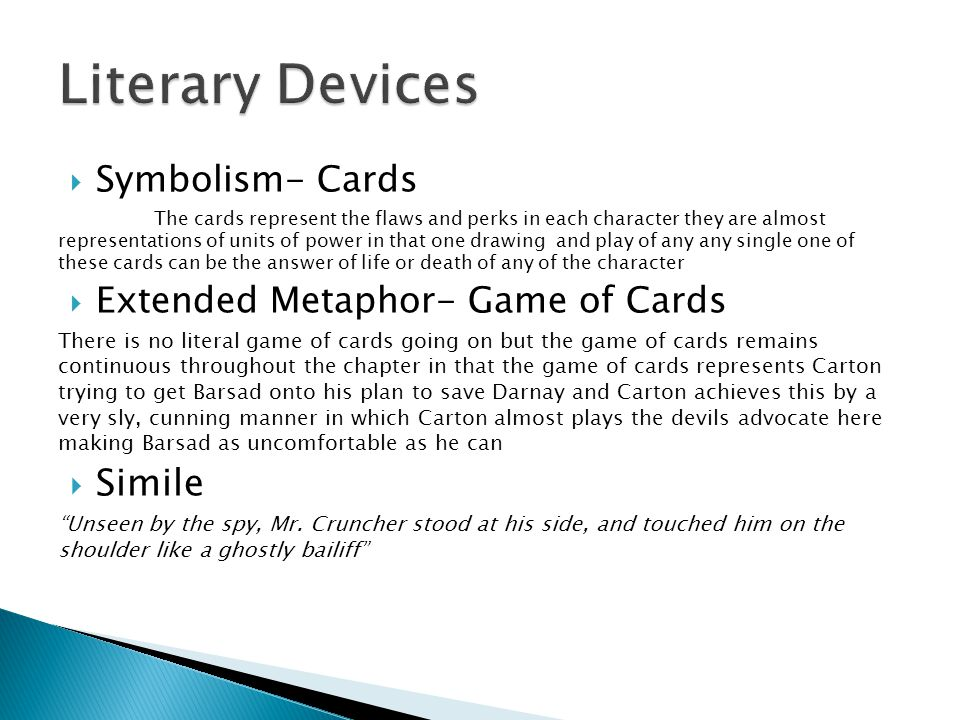 Symbolism- Cards The cards represent the flaws and perks in each character they are almost representations of units of power in that one drawing and p