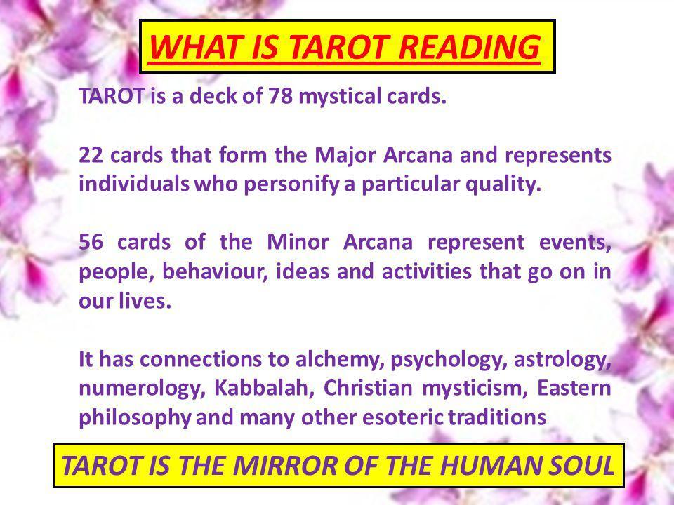 TAROT is a deck of 78 mystical cards.
