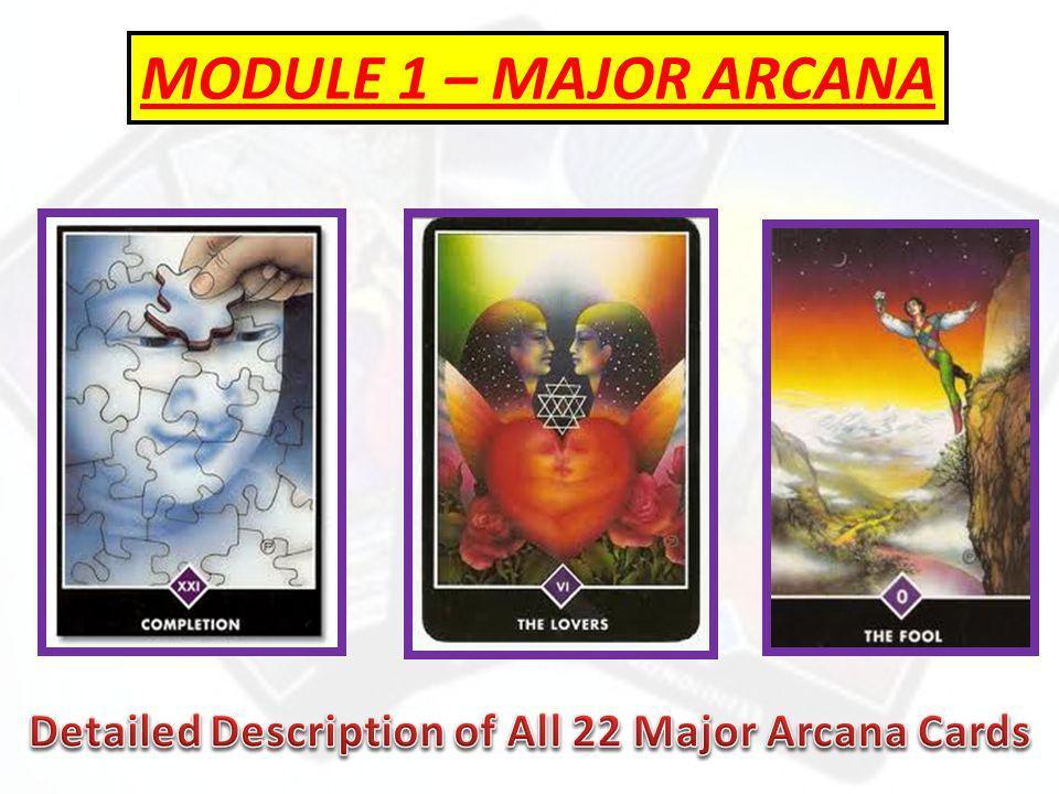 MODULE 1 – MAJOR ARCANA