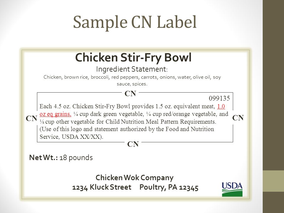 Consistent & Current All supporting documentation for your menu should be consistent and current.