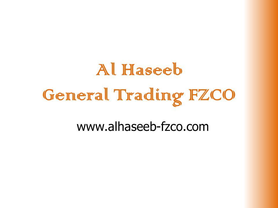 Al Haseeb General Trading FZCO www.alhaseeb-fzco.com