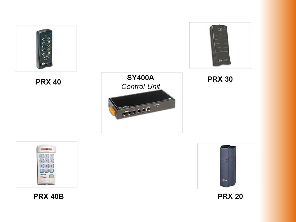 SY400A Control Unit PRX 40 PRX 30 PRX 40BPRX 20