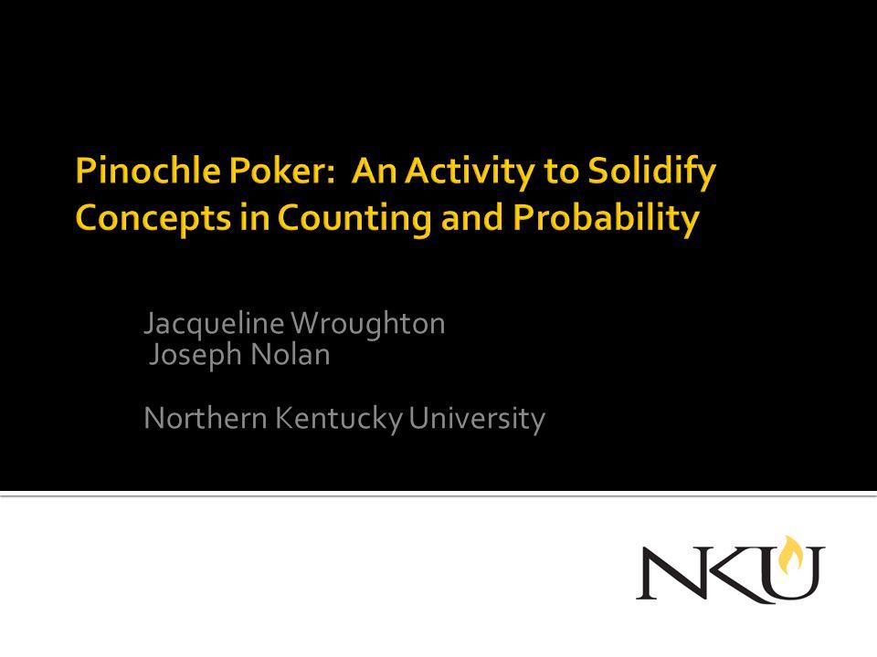 Jacqueline Wroughton Joseph Nolan Northern Kentucky University