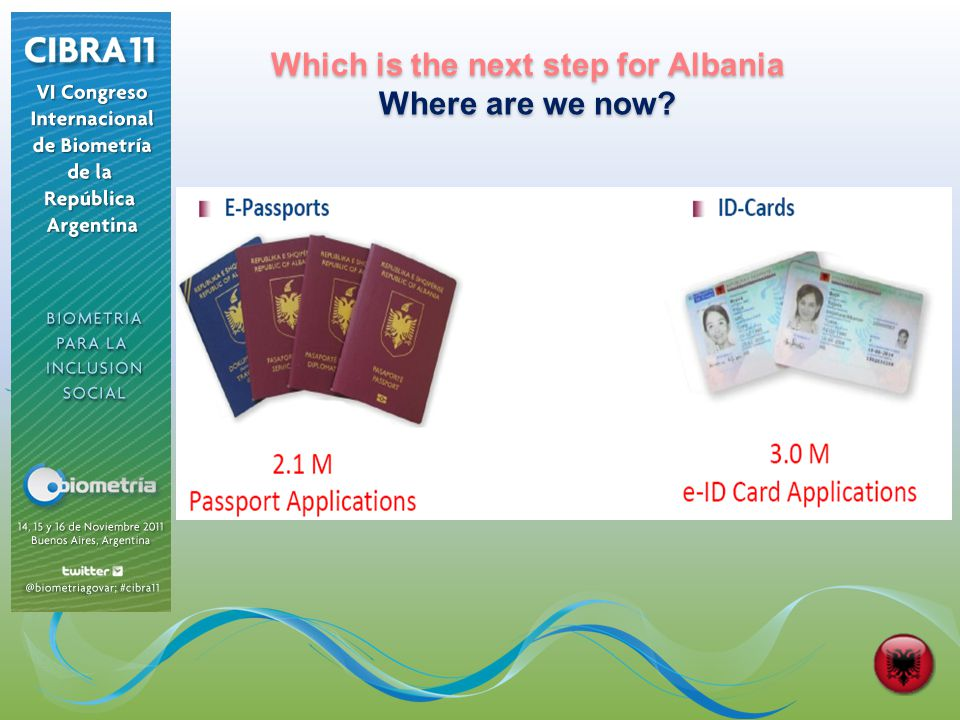 Which is the next step for Albania Where are we now